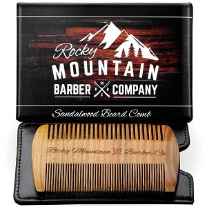 מסרק לזקן של חברת Rocky Mountain Barber