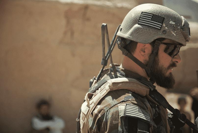 חייל אמריקאי עם פטור זקן זמני