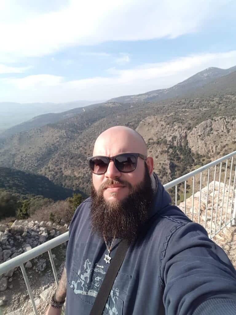 יעקב גודס בטיול בטבע