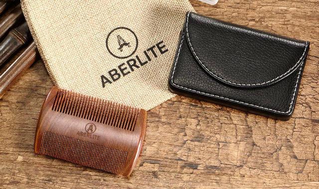 מסרק כיס לזקן של חברת Aberlite