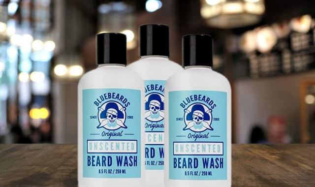 שמפו לזקן בלי ריח Bluebeards