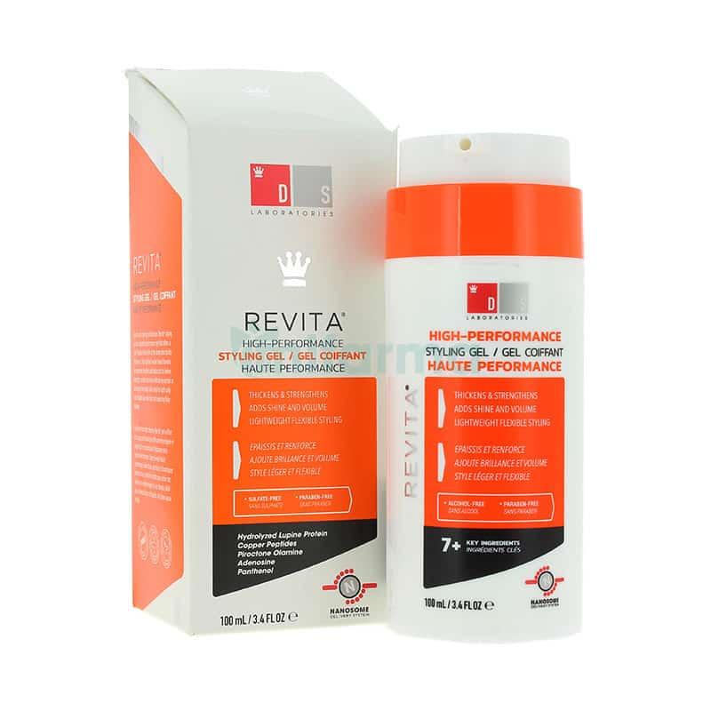 ג'ל לעיצוב השיער של חברת Revita