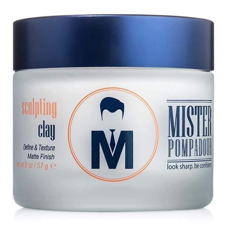 חימר לשיער של Mister Pompadour