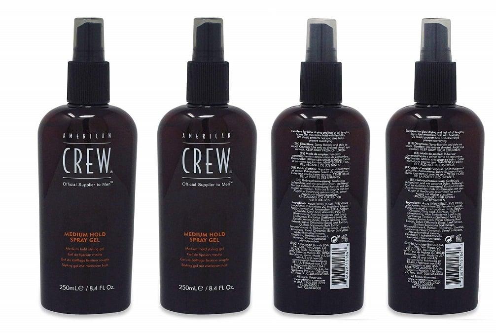 ספריי ג'ל לשיער של American Crew