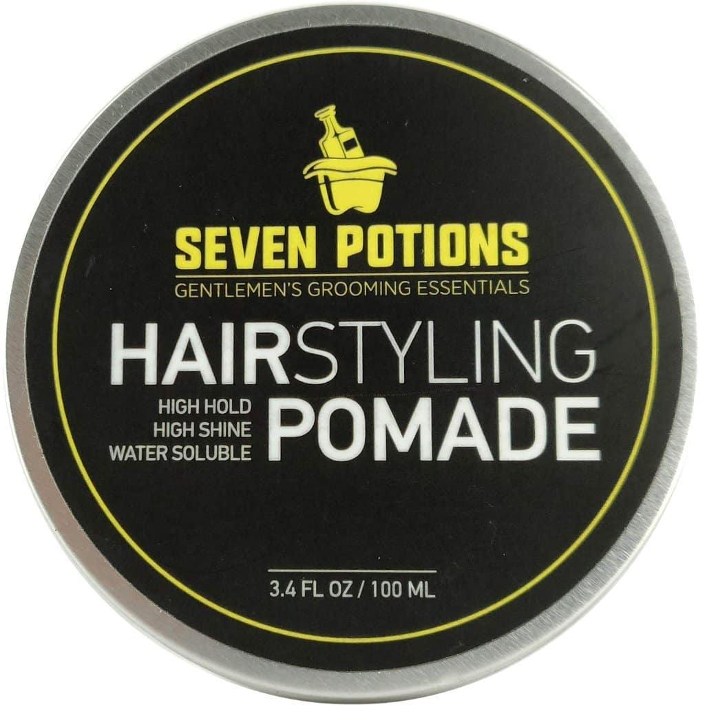 פומייד לעיצוב השיער של חברת Seven Potions